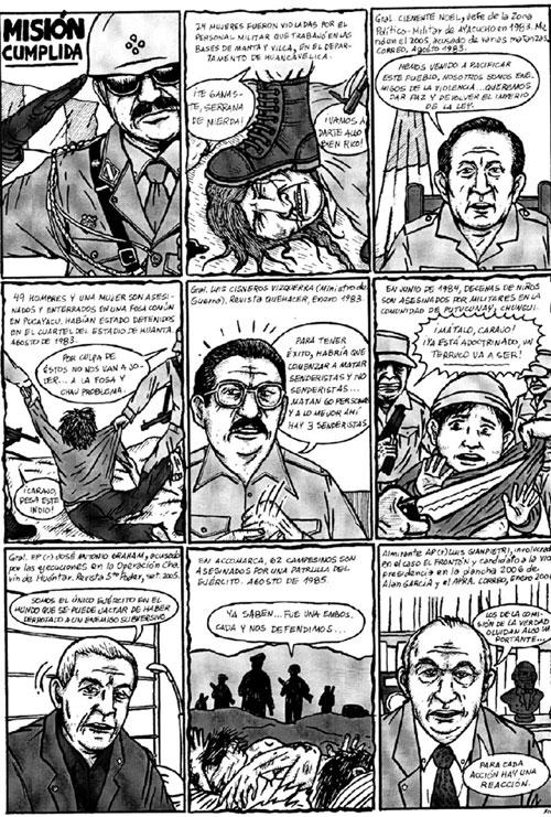 Historieta de Jesús Cossío aparecida en la revista ¿Tiene dientes?