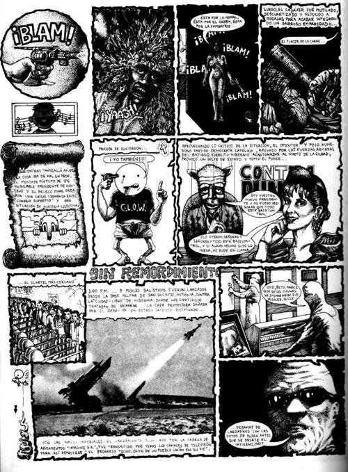 Gore por Miguel Det revista ¿Tiene dientes? 1994